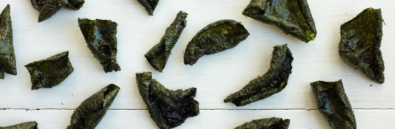 Crispy Seaweed Chips
