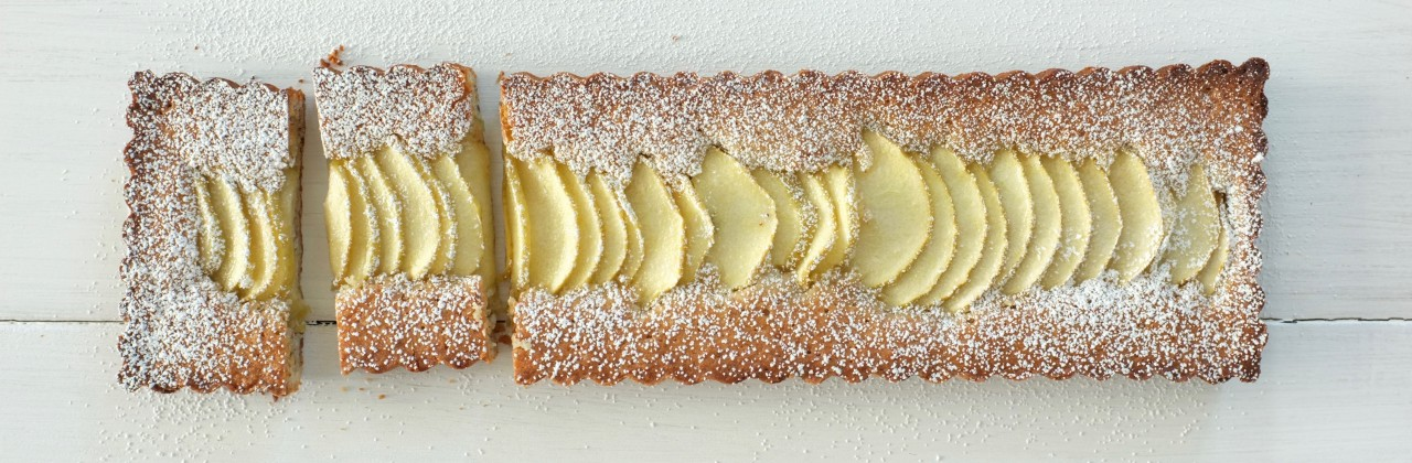 Apple, Almond Tart
