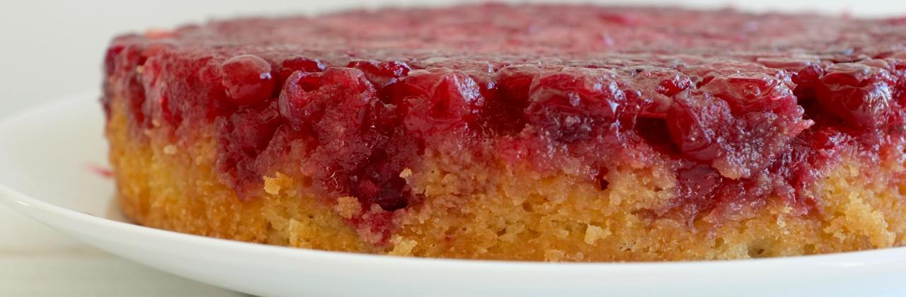 Cranberry-Pineapple Upside Down Cake