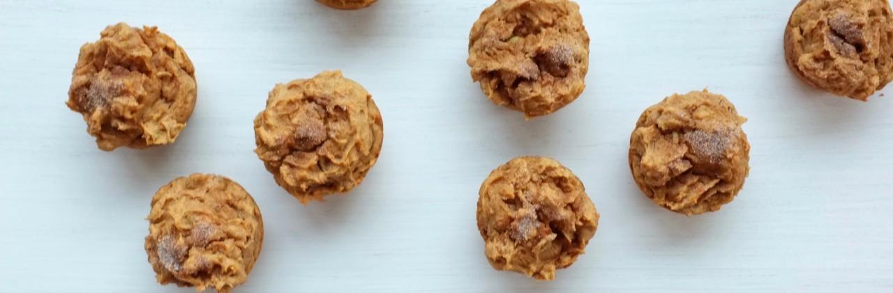 Sweet Potato & Apple Muffins