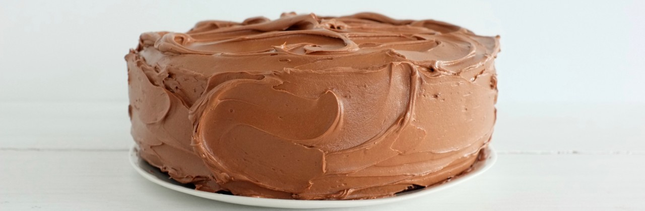 A Chocolate Cake with Mocha Frosting For the People