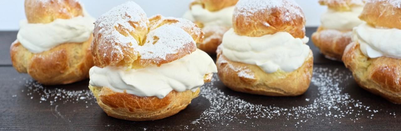 Jacques Pepin's Cream Puffs