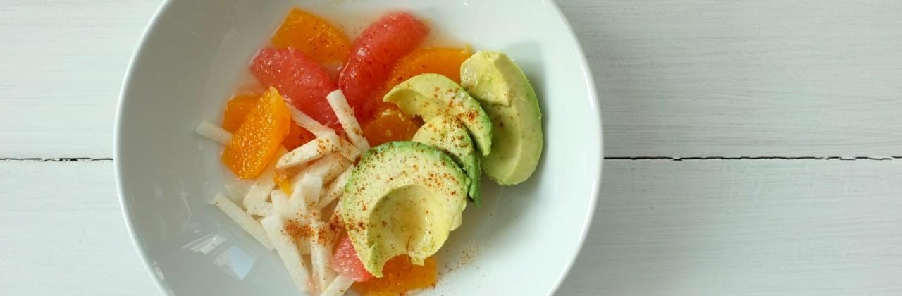 Citrus Salad with Avocado, Jicama & Chipotle