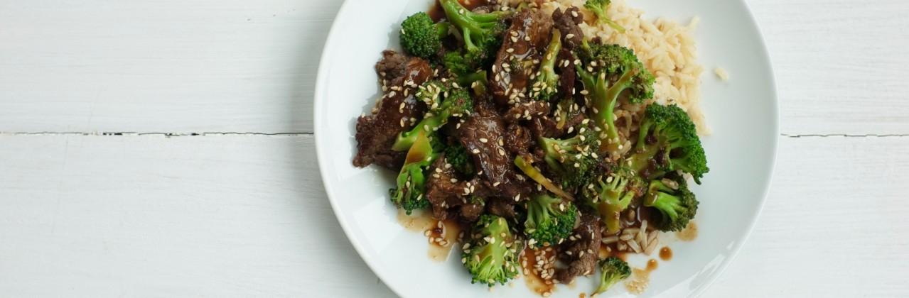 Back-To-School Beef and Broccoli