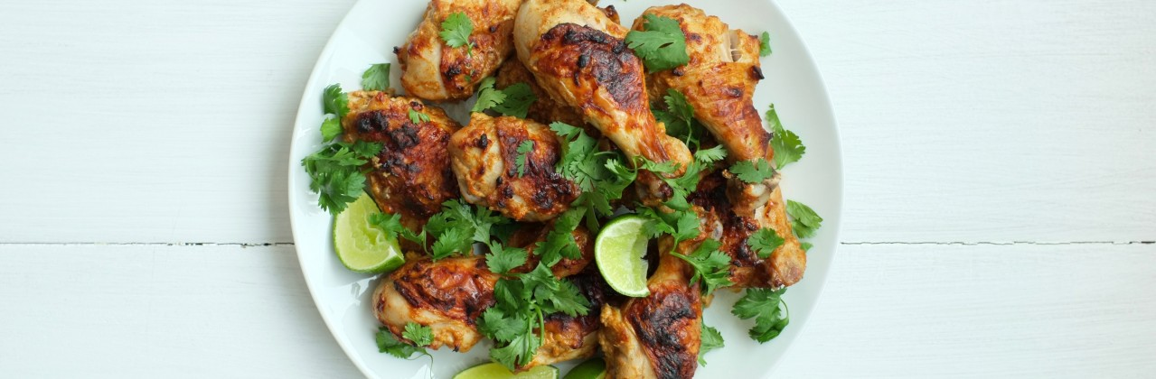 Roasted Indian-Spiced Chicken