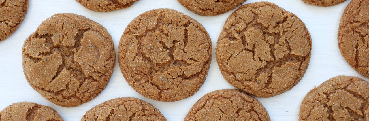 Chewy Gingersnap Cookies Recipe from Jessica Seinfeld