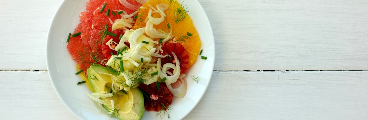 Citrus Salad with Pickled Ginger and Fennel