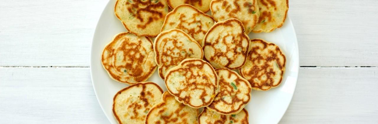 Corn and Jalapeño Pancakes