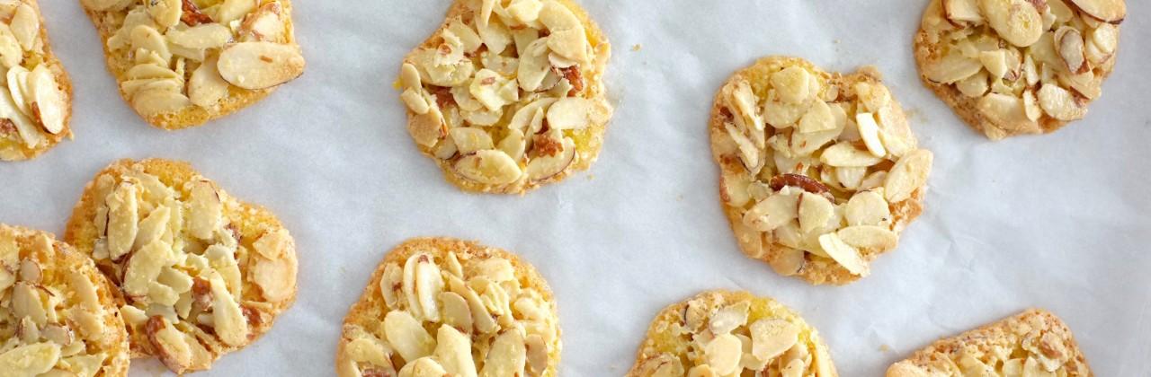 Dorie Greenspan's 3-Ingredient Almond Crackle Cookies