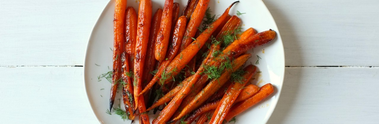Brown Sugar and Spice Roasted Carrots
